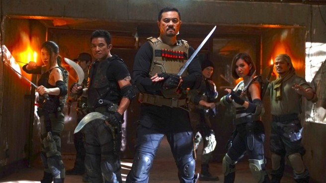 Film review of Blood Hunters: Rise of the Hybrids. The Slayers assemble!